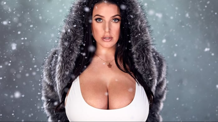 Angela White in Angela By Darkko