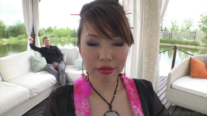 Cherry Kiss in Rocco's World Asian Attack