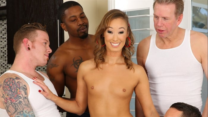 Christy Love in LeWood Gangbang: Battle Of The MILFs 3